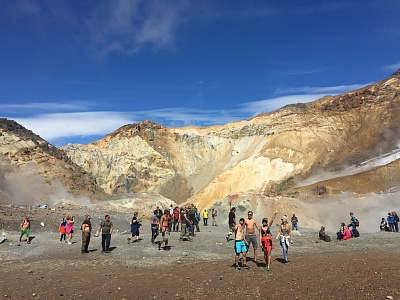 Trekking tours to volcanoes